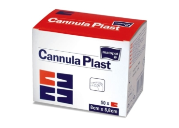 Повязки для крепления канюль из нетканого материала Cannula PLAST