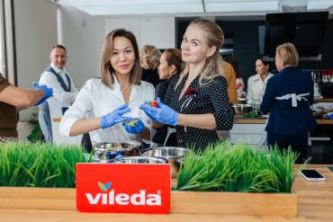 Пресс-завтрак с Vileda